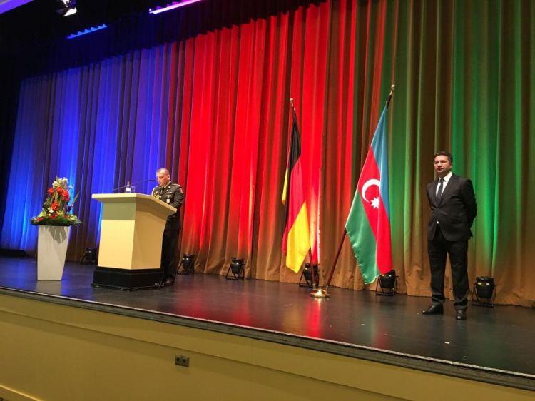 Berlində Azərbaycan Silahlı Qüvvələrinin 100 illiyi münasibətilə rəsmi qəbul keçirilib